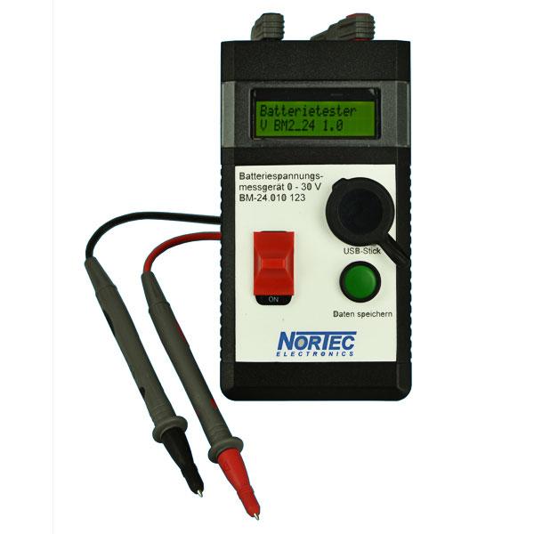 Batteriespannungsmessgerät BM-24 / USB
