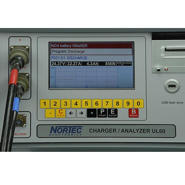 UL60 Lade- und Analysegerät